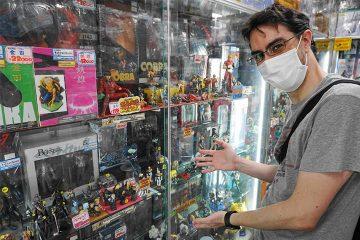 日本コミックヒーローがいっぱい!フィギュアの店「ガキレンジャー」