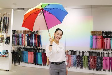 Waterfront, umbrella specialty store