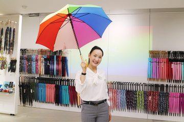 世界最大級の傘専門店Waterfront