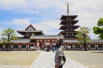 聖徳太子が建立した日本最古のお寺、四天王寺